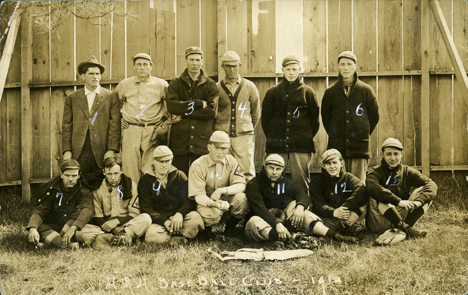 Heights Baseball Club, 1912