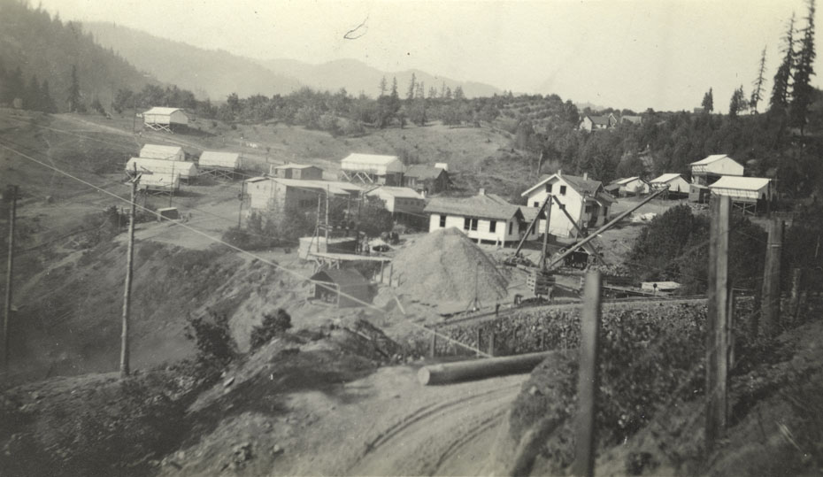Construction Camp At Condit Dam