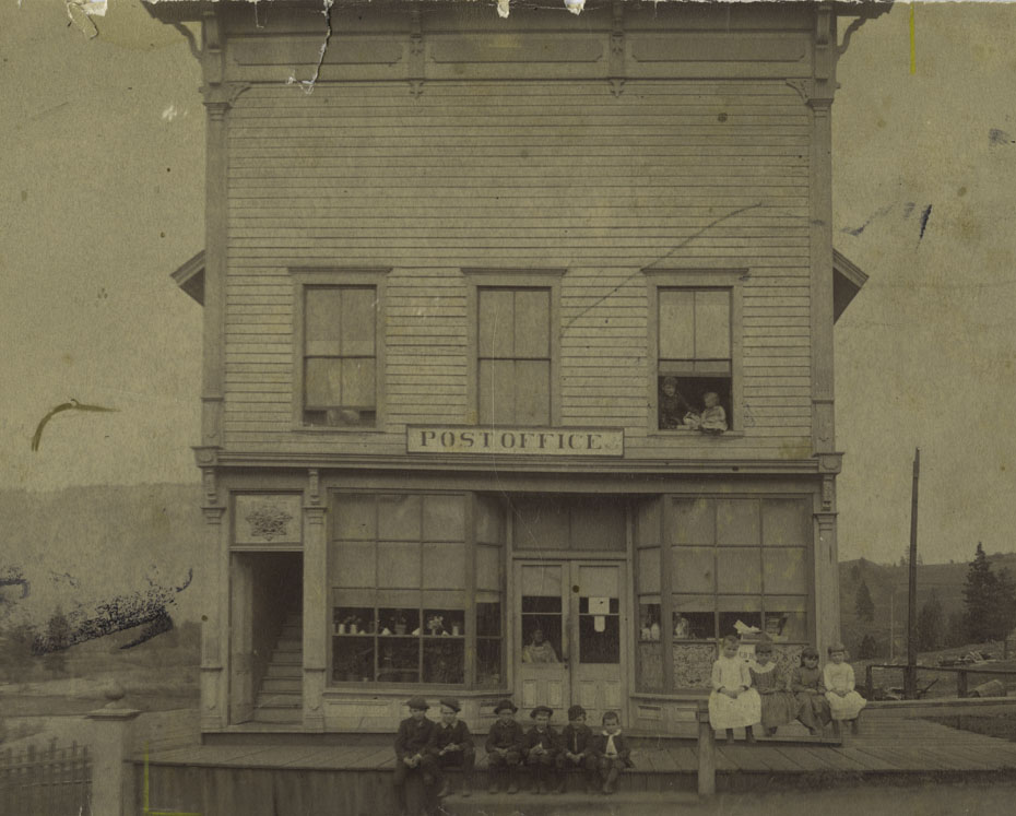 Hood River Post Office, Circa 1890