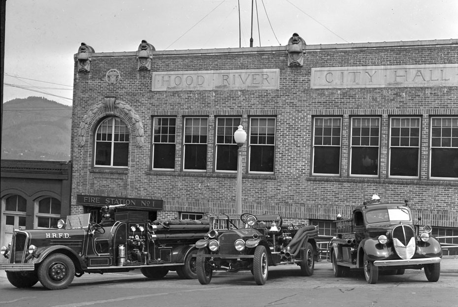 City Hall and Fire Station, 1939