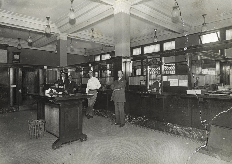 First National Bank Lobby