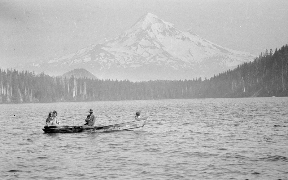 Lost lake 1928 historic hood river images from the for Hood river fishing
