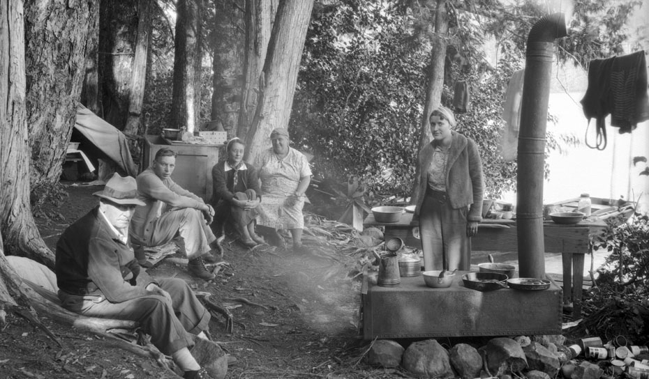 Lost Lake Campsite, 1938