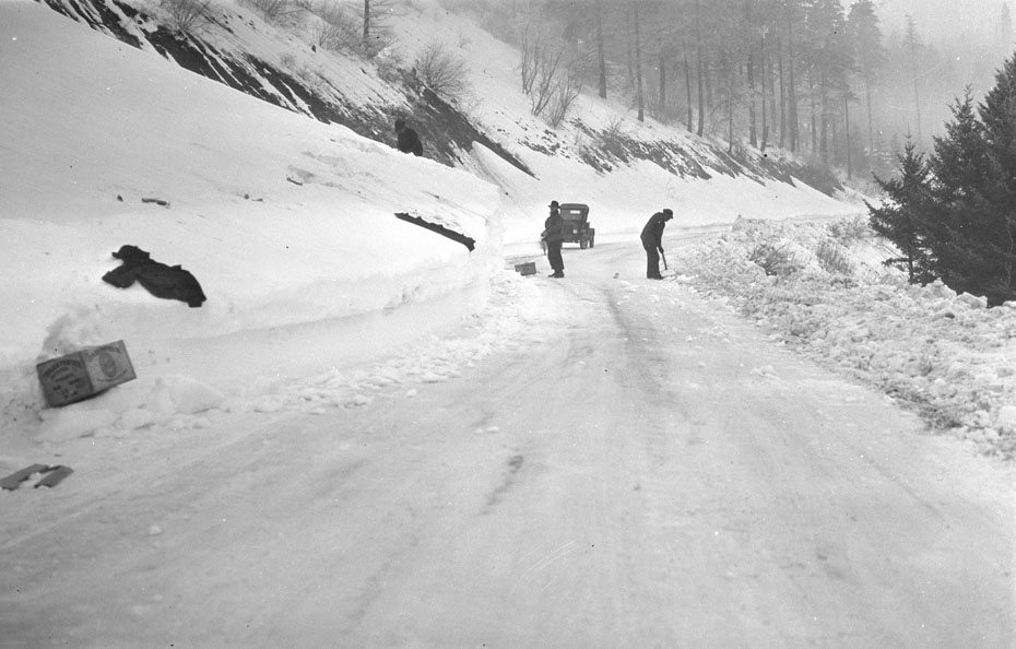 Snow Clearing, 1928