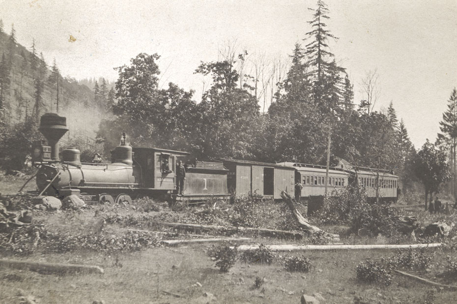 Mt. Hood Railroad Engine #1