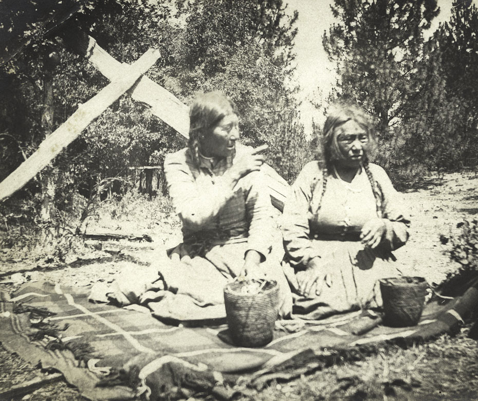 Basket Makers of the White Salmon Tribe