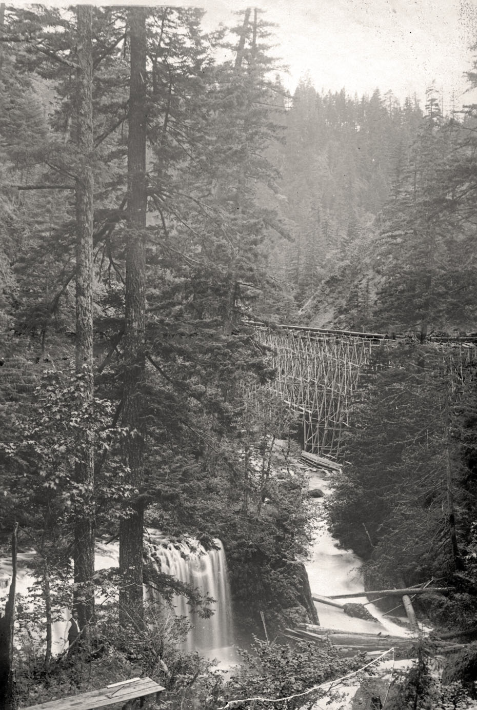 Flume at Spirit Falls