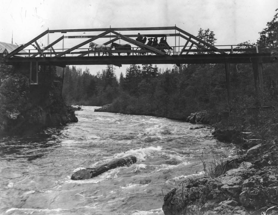 Tucker Bridge circa 1900