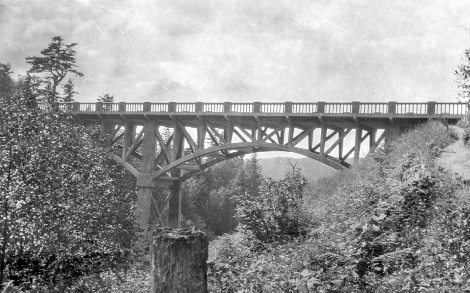 Happy Birthday, Latourell Creek Bridge