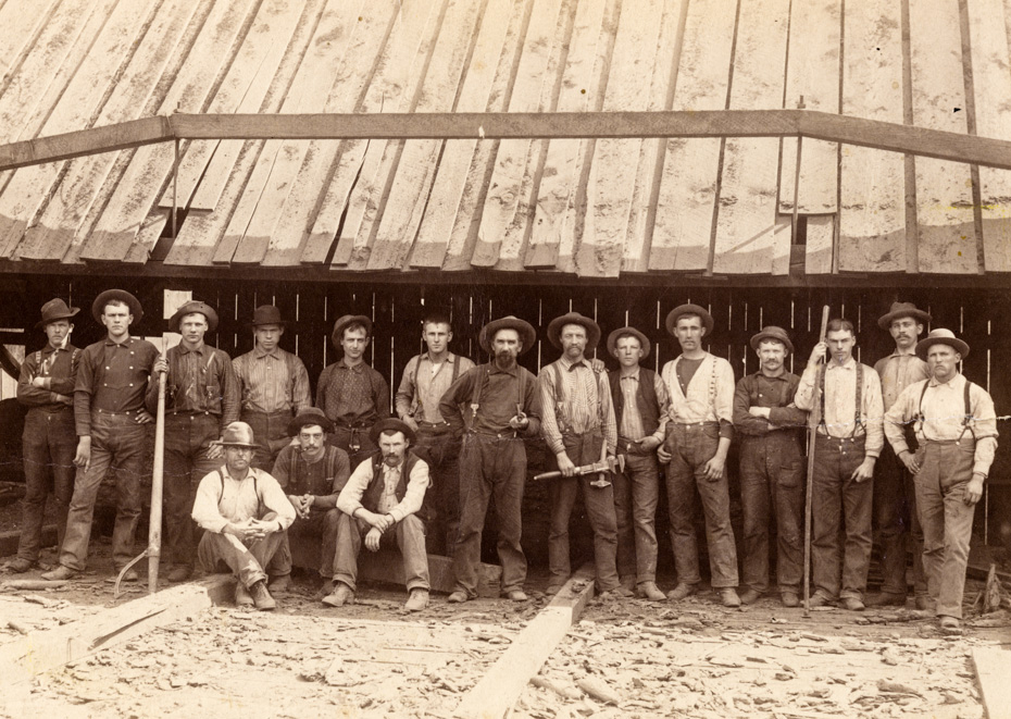 17 Men at the Mill