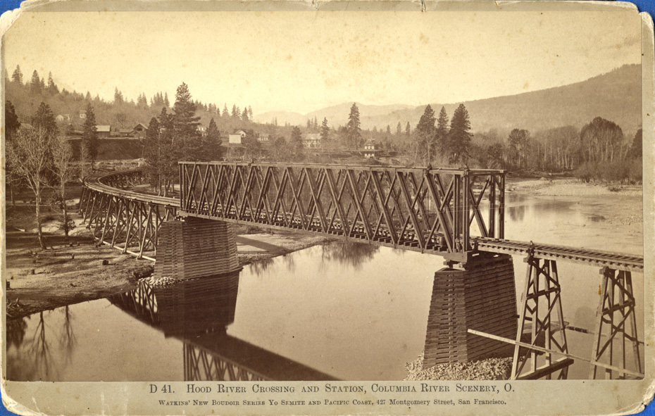 Hood River Crossing, circa 1883