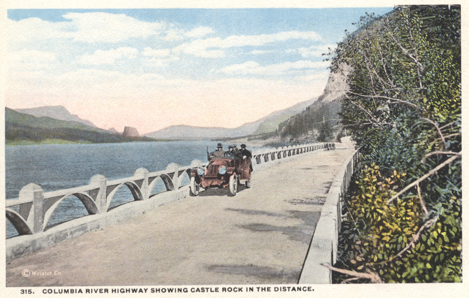 Columbia River Highway Postcards