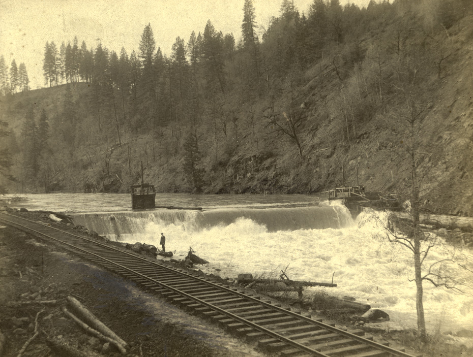 Early Hydroelectric Dam