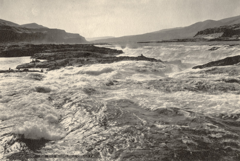 The Whirlpool Overlooking Celilo Falls
