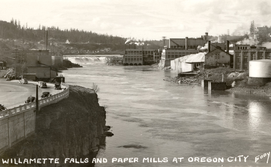 Willamette Falls and Paper Mills