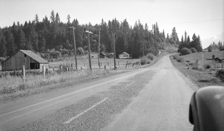 Mt. Hood Loop Highway, 1947