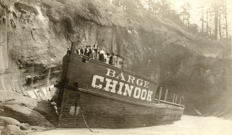 Wreck of the Barge Chinook