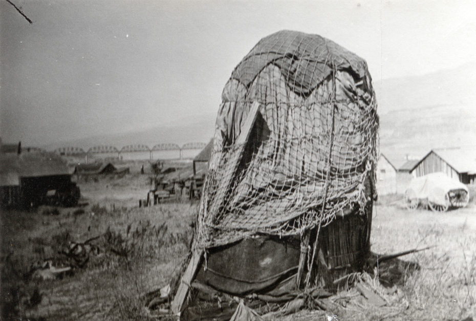 Sweat Box at Celilo Village