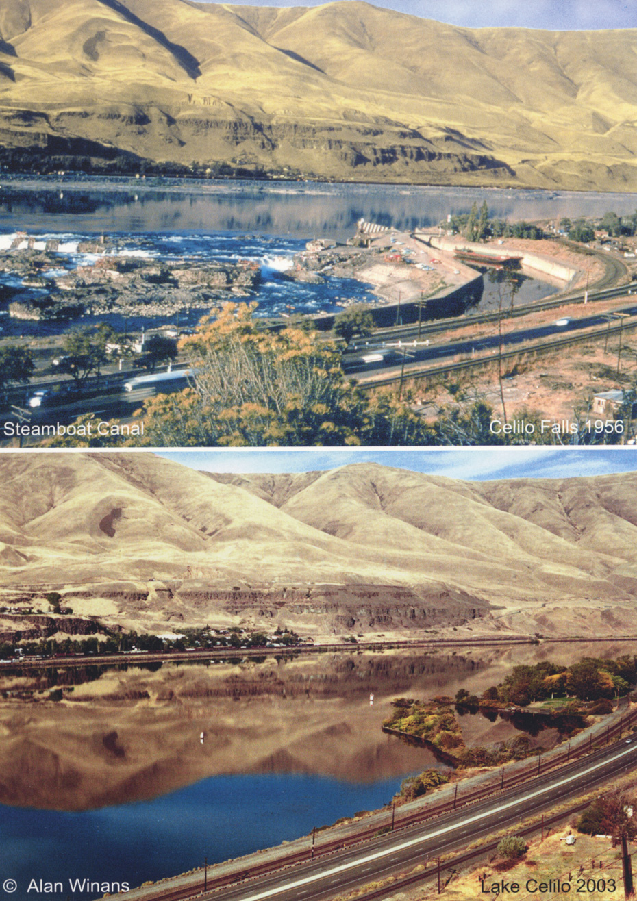 Celilo, Then and Now
