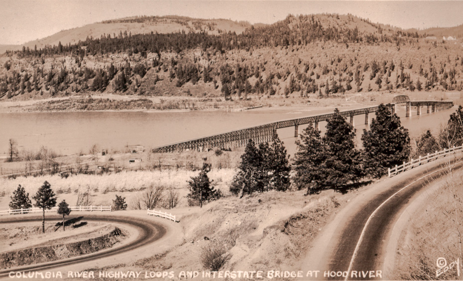 Columbia River Highway Loops and Interstate Bridge